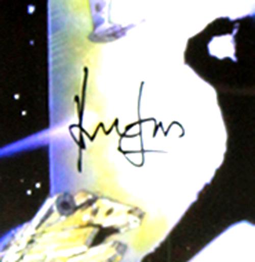 Harrison Ford Signed Star Wars Episode VI Return Of The Jedi Framed Movie Poster-32665