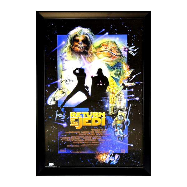 Harrison Ford Signed Star Wars Episode VI Return Of The Jedi Framed Movie Poster-32668