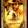 Harrison Ford Signed Indiana Jones The Last Crusade 27x40 Framed Movie Poster-0