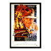 Harrison Ford Signed Indiana Jones And The Temple Of Doom - Whole Cast 27x40 Framed Movie Poster-32678
