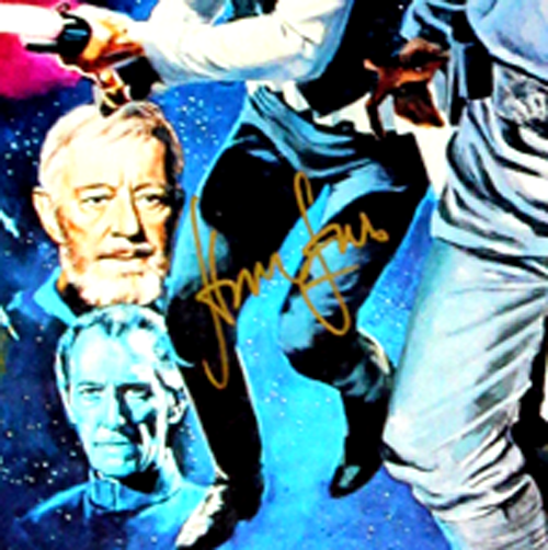 Harrison Ford Signed Star Wars Episode IV A New Hope 22x34 White Framed Movie Poster-32687