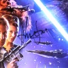 Harrison Ford Signed Star Wars The Force Awakens 22x34 Framed Movie Poster-32689