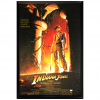 Harrison Ford Signed Indiana Jones And The Temple Of Doom 27x40 Framed Movie Poster-32698