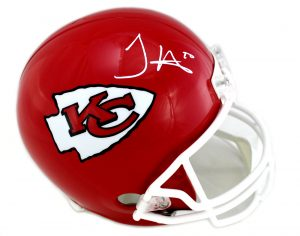 Tyreek Hill Signed Kansas City Chiefs Full SIze Riddell NFL Helmet -0