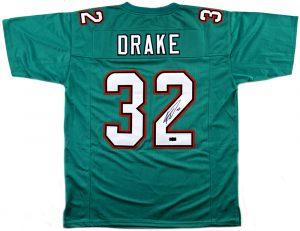 Kenyan Drake Signed Miami Dolphins Custom Jersey-0