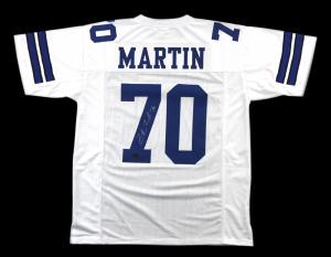 Zack Martin Signed Dallas Cowboys White Custom Jersey-0