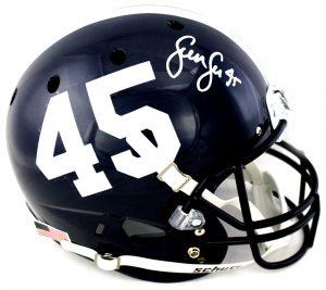 Sean Lee Signed Penn State Nittany Lions Schutt Full Size NCAA Blue Helmet-0