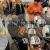 """Paul Warfield Signed Cleveland Brown Riddell Throwback Full Size NFL Helmet With """"HOF 83"""" Inscription-32174"""