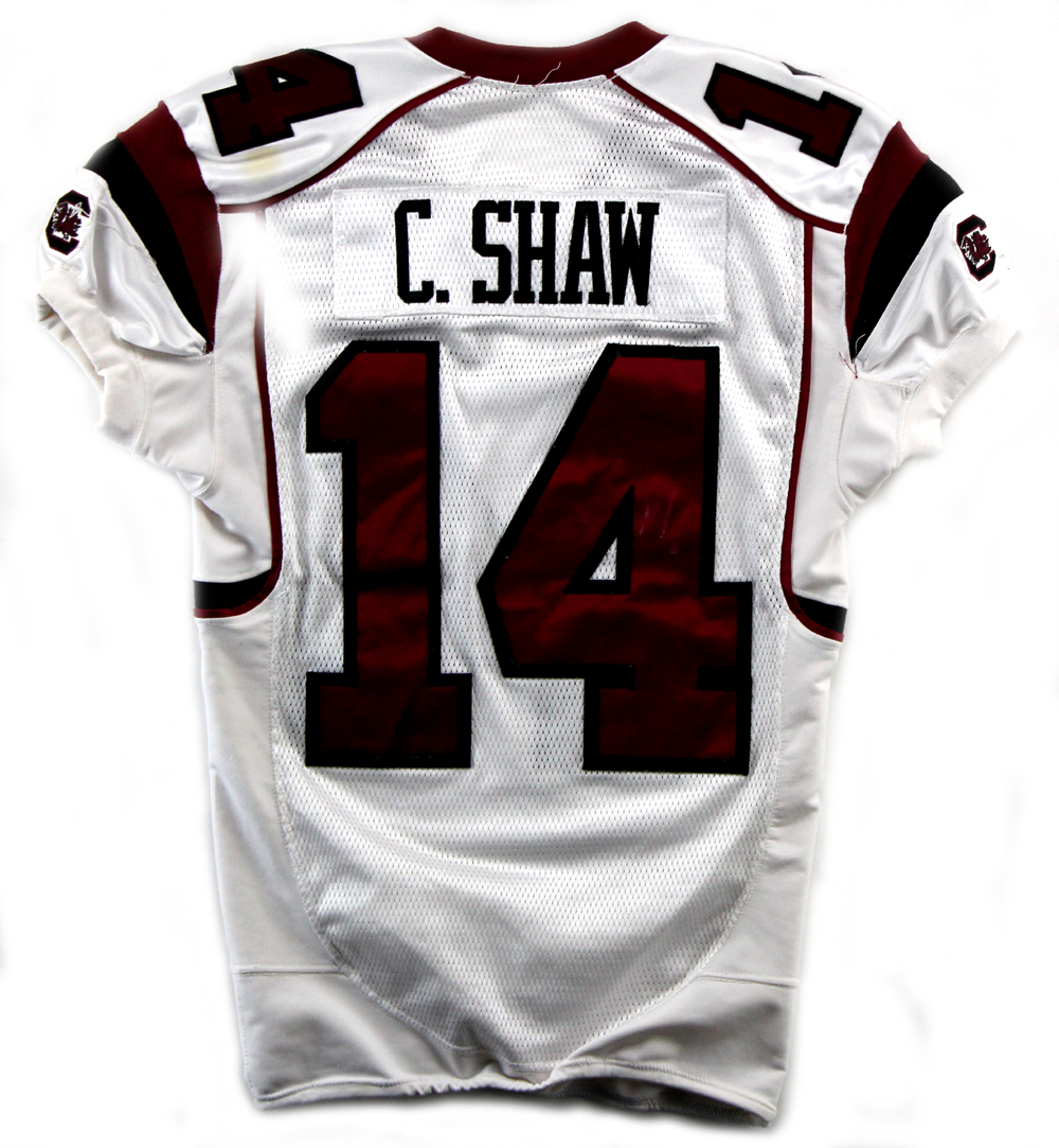 Connor Shaw Signed South Carolina Gamecocks Game Used 2010 Season Jersey
