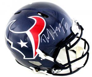 DeAndre Hopkins Signed Houston Texans Riddell Speed Authentic NFL Helmet-0