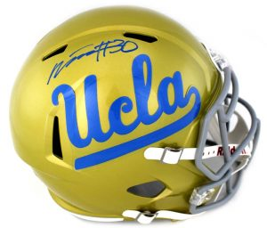 Myles Jack Signed UCLA Bruins Riddell Speed Full Size NCAA Helmet -0