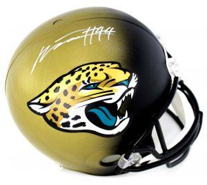 Myles Jack Signed Jacksonville Jaguars Riddell Full Size NFL Helmet-0
