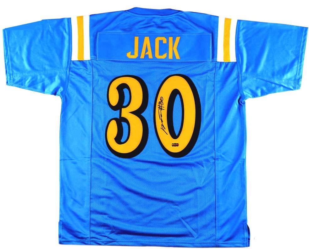 Myles Jack Signed UCLA Custom Powder Blue Jersey