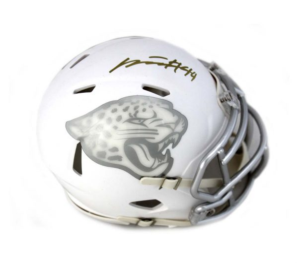 Myles Jack Signed Jacksonville Jaguars Riddell NFL Ice Mini Helmet -0