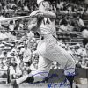 Pete Rose Autographed/Signed Cincinnati Reds 8x10 MLB Black and White Photo - Hit King 4256-0
