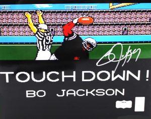 Bo Jackson Signed Oakland Raiders 8x10 Tecmo Bowl Shot Photo-0