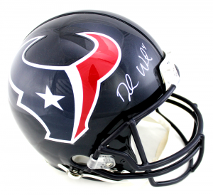 Deshaun Watson Signed Houston Texans Current Authentic NFL Helmet-0