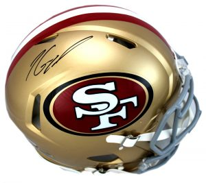 Jimmy Garoppolo Signed San Francisco 49ers Riddell Authentic Speed NFL Helmet -0