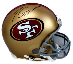 Jimmy Garoppolo Signed San Francisco 49ers Riddell Authentic NFL Helmet -0