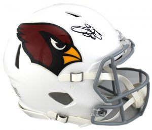 Emmitt Smith Signed Arizona Cardinals Riddell Authentic Speed NFL Helmet-0