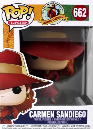 Funko Pop! Carmen SanDiego Collection #662-0