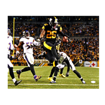 f6100e47990 ... LeVeon Bell Signed Pittsburgh Steelers 16x20 Color Rush Photo-32433