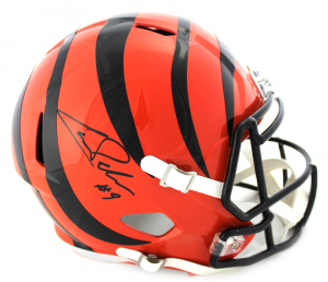 Carson Palmer Signed NFL Cincinnati Bengals Speed Full Size Helmet-0