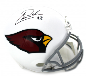 Carson Palmer Signed NFL Arizona Cardinals Current Full Size Helmet-0