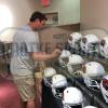 Carson Palmer Signed NFL Arizona Cardinals Speed Full Size Helmet-32184