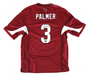 Carson Palmer Signed NFL Arizona Cardinals Red Nike Jersey-0