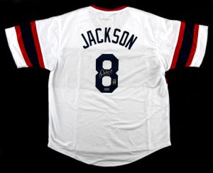 Bo Jackson Signed Chicago 1980's White Custom Jersey-0