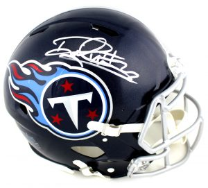 Derrick Henry Signed Tennessee Titans Riddell Full Size Authentic NFL Blue Speed Helmet-0