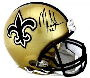 Mark Ingram Signed New Orleans Saints Authentic Helmet-0