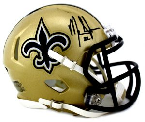 Mark Ingram Signed New Orleans Saints Speed Mini Helmet-0