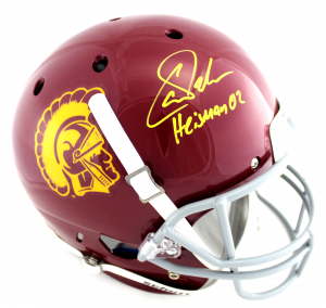 Carson Palmer Signed NCAA USC Trojans Schutt Full Size Helmet-0