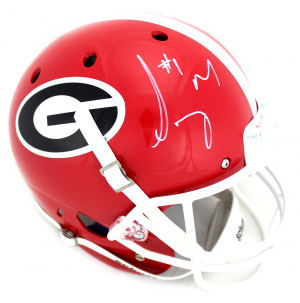 Sony Michel Signed Georgia Bulldogs Schutt Full Size NCAA Helmet-0