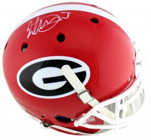 Todd Gurley Signed Georgia Bulldogs Schutt Authentic NCAA Helmet-0