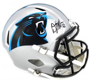 DJ Moore Signed Carolina Panthers Speed Full Size NFL Helmet-0