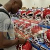 Adrian Peterson Signed Oklahoma Sooners Authentic NCAA Speed Helmet-32572