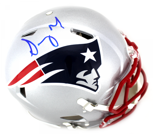 Sony Michel Signed New England Patriots Current Speed Authentic Helmet-0