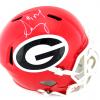 Sony Michel Signed Georgia Bulldogs Full Size Speed NCAA Helmet-0