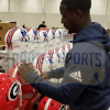 Sony Michel Signed Georgia Bulldogs Full Size Speed NCAA Helmet-32532