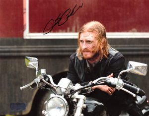 Austin Amelio Signed 8x10 The Walking Dead Motorcycle Photo-0