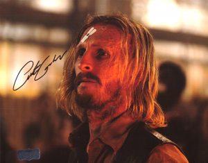 Austin Amelio Signed 8x10 The Walking Dead Forehead Bandage Photo-0