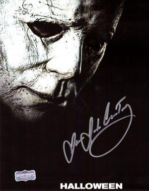 "James Jude Courtney ""Michael Myers"" Signed Halloween 8x10 Photo-0"