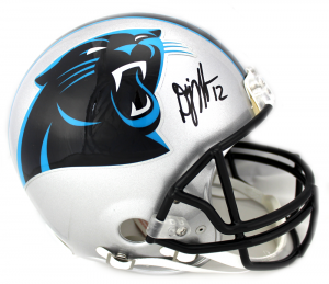 DJ Moore Signed NFL Carolina Panthers Current Authentic Helmet-0