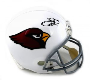 Emmitt Smith Signed Arizona Cardinals Riddell Full Size NFL Helmet -0