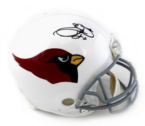 Emmitt Smith Signed Arizona Cardinals Riddell Authentic Full Size NFL Helmet-0