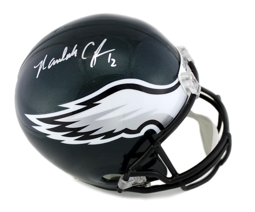 c1156324c2a Randall Cunningham Signed Philadelphia Eagles Riddell NFL Full Size Helmet