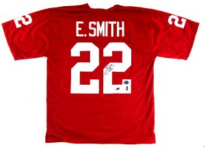 Emmitt Smith Signed Arizona Cardinals Custom Jersey -0